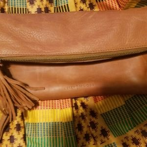The Clutch Carry-all- Full Grain Leather 3 in 1 ba